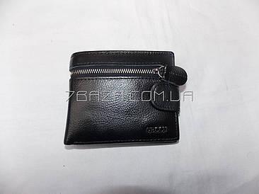 Мужской кожаный кошелек (9x12 см) - купить оптом и в розницу Одесса 7км