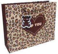 Пакет подарочный бумажный LULU в170*ш220*т80мм 06D02