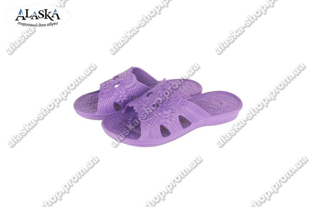 Женские шлепки  (Код: ПЖ-29 фиолет )