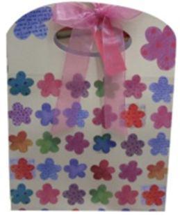 Пакет подарочный бумажный LULU в170*ш140*т80мм B03