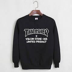 Свитшот Thrasher черный реплика
