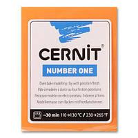Глина полимерная Cernit Neon Light 56гр Неон Оранжевый CR-CE0930056752