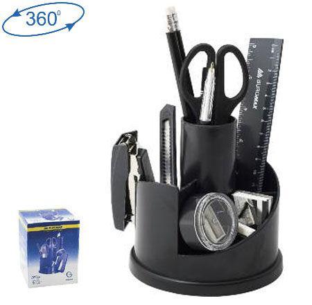 Настольный набор пластик Buromax 6304 13 предметов