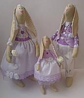 Семья кроликов в стиле Тильда, Hand made