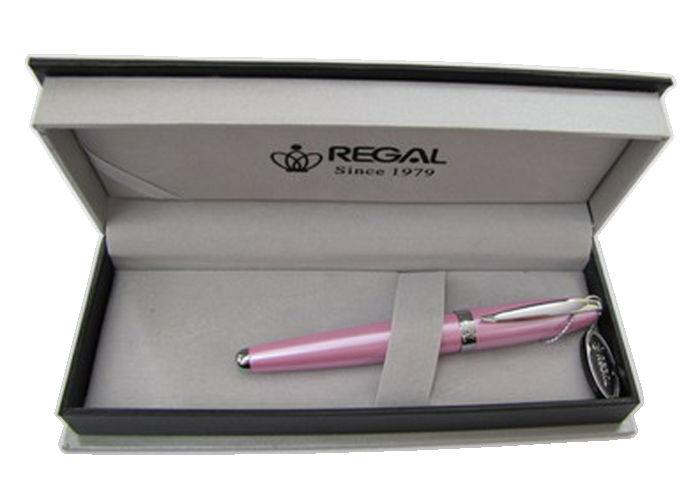 Ручка шариковая REGAL в футляре голубая/розовая R87***.P.B