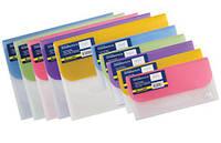 Папка-конверт DL на липучке 4 отделения Buromax 3708-99