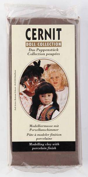 Глина полимерная Cernit Doll Collection 500гр Нуга CR-0950500808