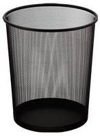 Корзина для бумаг Металлическая Сетка круглая Buromax 6270-01