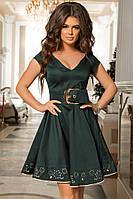 Бесподобное платье  с широким ремнём, фото 1