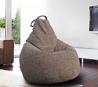 Кресло-мешок груша Микро-рогожка 90*130 см , фото 1