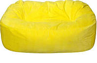 Кресло мешок, Бескаркасный диван. Микро-рогожка 90*120*175 см