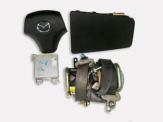 Подушки безопасности комплект 05-07 Mazda 6 (GG) 03-07 (Мазда 6 ГГ)  GJ6A57K30A
