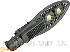 Світлодіодний світильник вуличний полегшений COB 100W 11000LM 6000K EUROLAMP LED