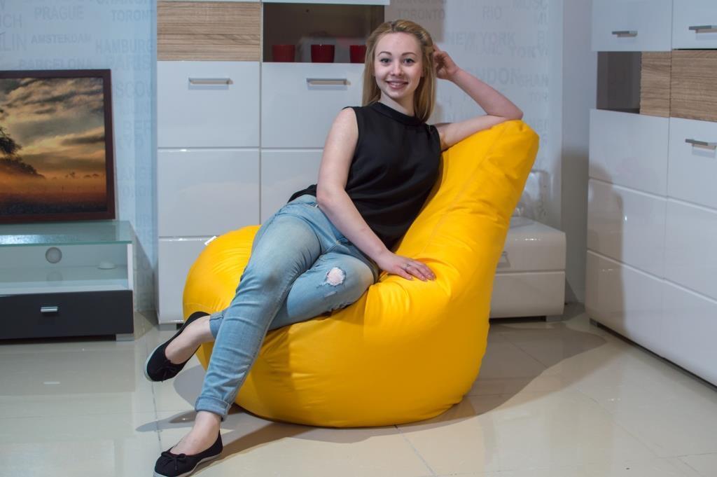 Кресло-мешок груша Оксфорд 90*130 С дополнительным чехлом