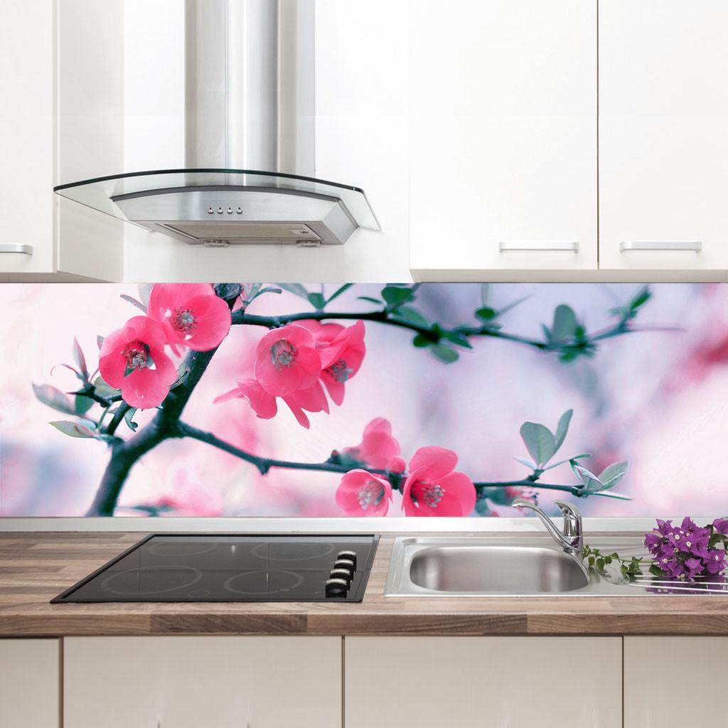 """Фартук на кухню / Скинали """"Цветущее дерево"""""""