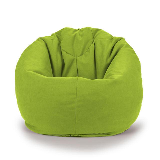 Овальное кресло - мешок груша 85*105 см Микро-рогожка С дополнительным чехлом