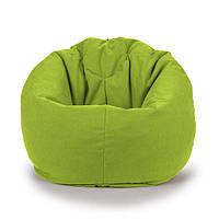 Овальне крісло - мішок груша 85*105 см Мікро-рогожка З додатковим чохлом, фото 1