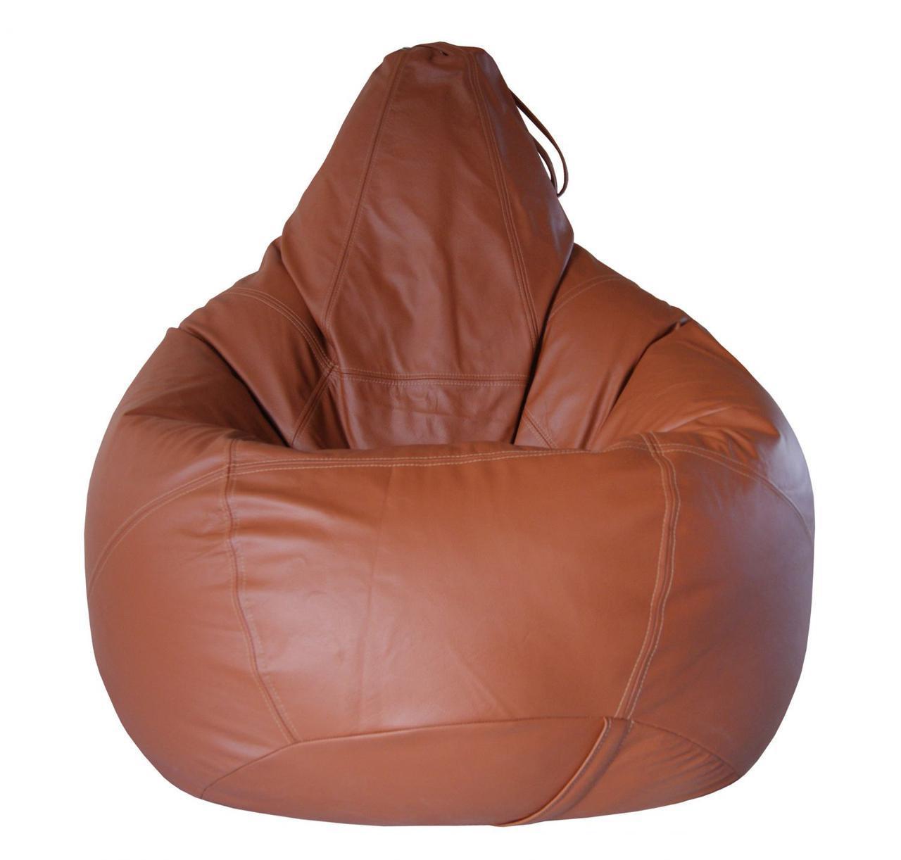 """Кресло- мешок груша Эко-кожа """"Зевс"""" 85*105 см"""