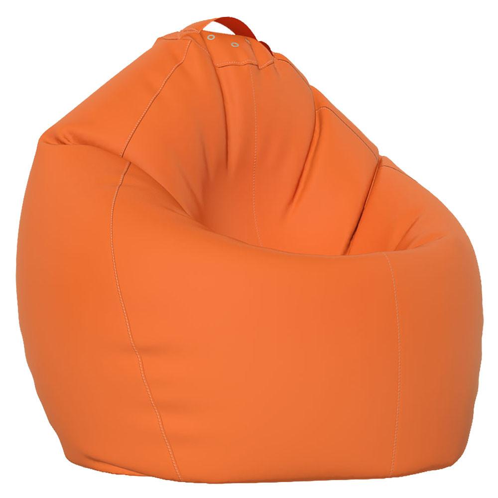 Кресло-Овал/Эко-кожа/90х130 см/С дополнительным чехлом