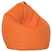 Кресло-Овал/Эко-кожа/Средний размер/С дополнительным чехлом