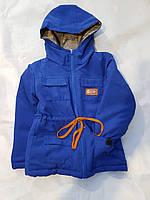 Парка куртка для мальчика демисезон 92-116 размеры