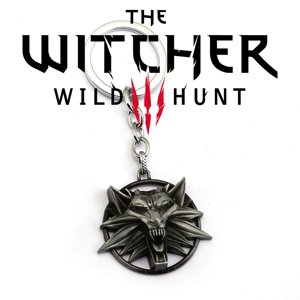 Брелок Ведьмака The Witcher wild hunt