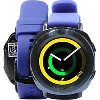 Умные водонепроницаемые часы Samsung Gear Sport SM-R600 Blue синие (SM-R600NZBA) IP68 оригинал Гарантия!
