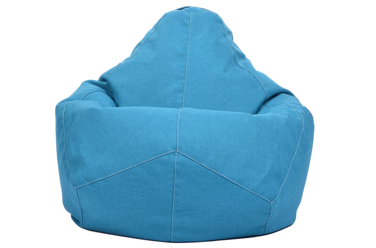 Крісло-Овал/Мікро-рогожка/90х130 см /С додатковим чохлом