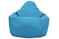 Крісло-Овал/Мікро-рогожка/90х130 см /С додатковим чохлом, фото 1