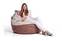 Кресло-мешок, груша Комфорт. Микро-рогожка 110*70см. С дополнительным чехлом, фото 1