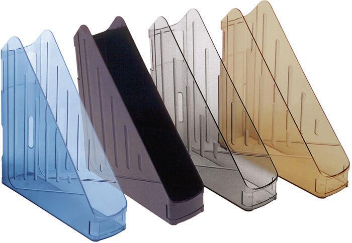 Лоток для бумаги вертикальный пластик KOH-I-NOOR Универсал 75412*_Прозрачный коричневый
