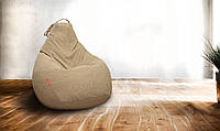 Кресло-мешок груша  Микро-рогожка90*130, фото 1