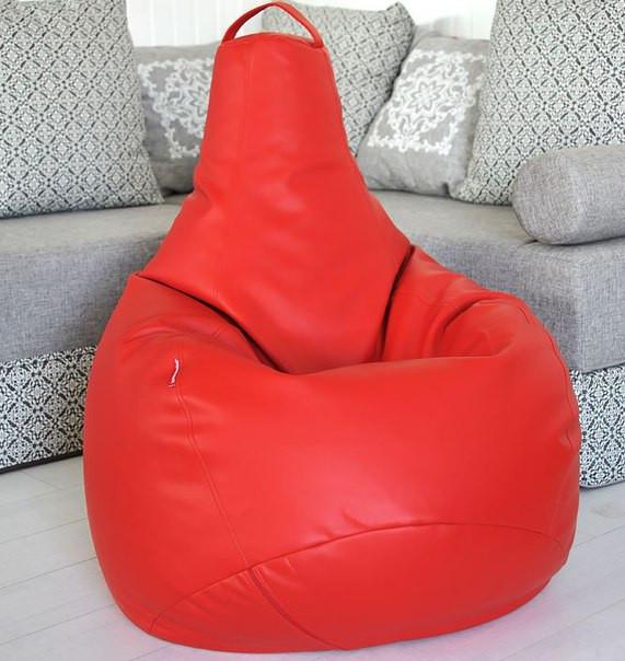 Кресло-мешок груша Эко-кожа 90*130 см С дополнительным чехлом