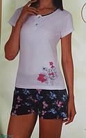 """Женская пижама """"Nicoletta"""" №80736 шорты"""