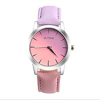 Наручные женские часы Радуга: 100-19 розовый