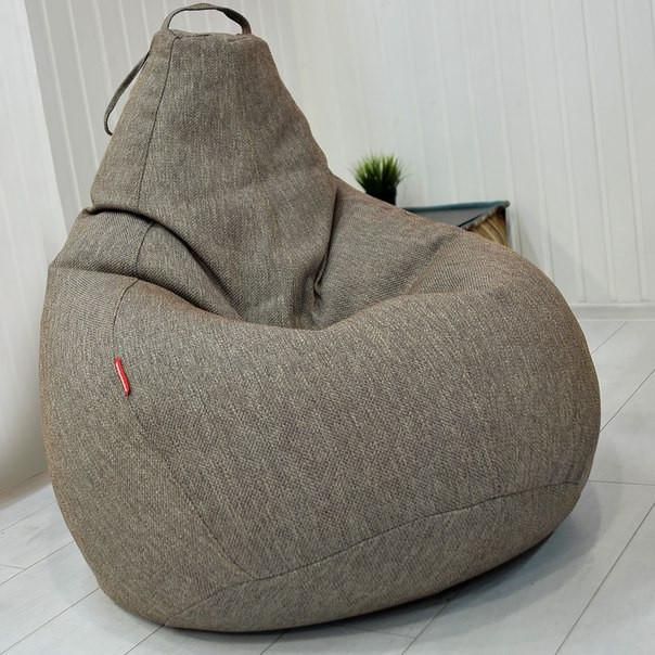 Кресло-мешок груша Микро-рогожка 90*130см