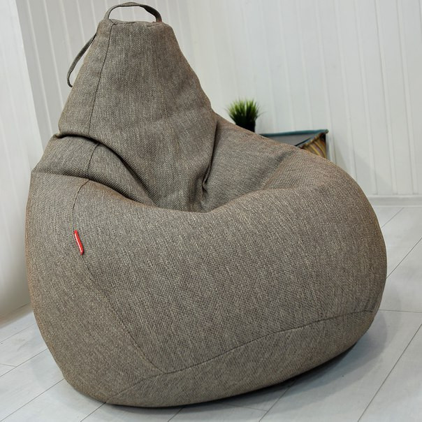 Огромное Кресло-мешок груша  Микро-рогожка 100*140 см