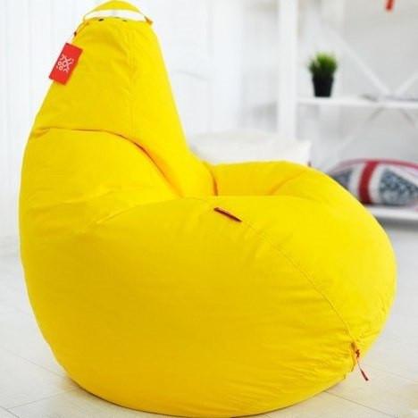 Кресло-мешок грушаОксфорд 90*130 Желтое