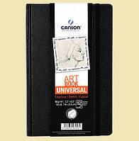 "Скетчбук ""Canson® Universal Art BookTM""   CANSON 14X21,6  NOIR"