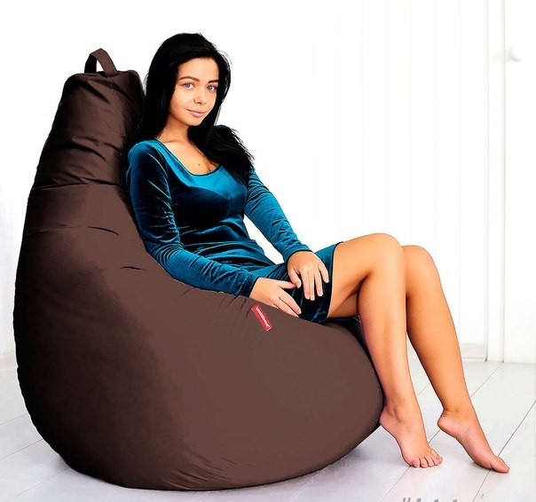 Крісло-мішок груша90*130 см Оксфорд З додатковим чохлом