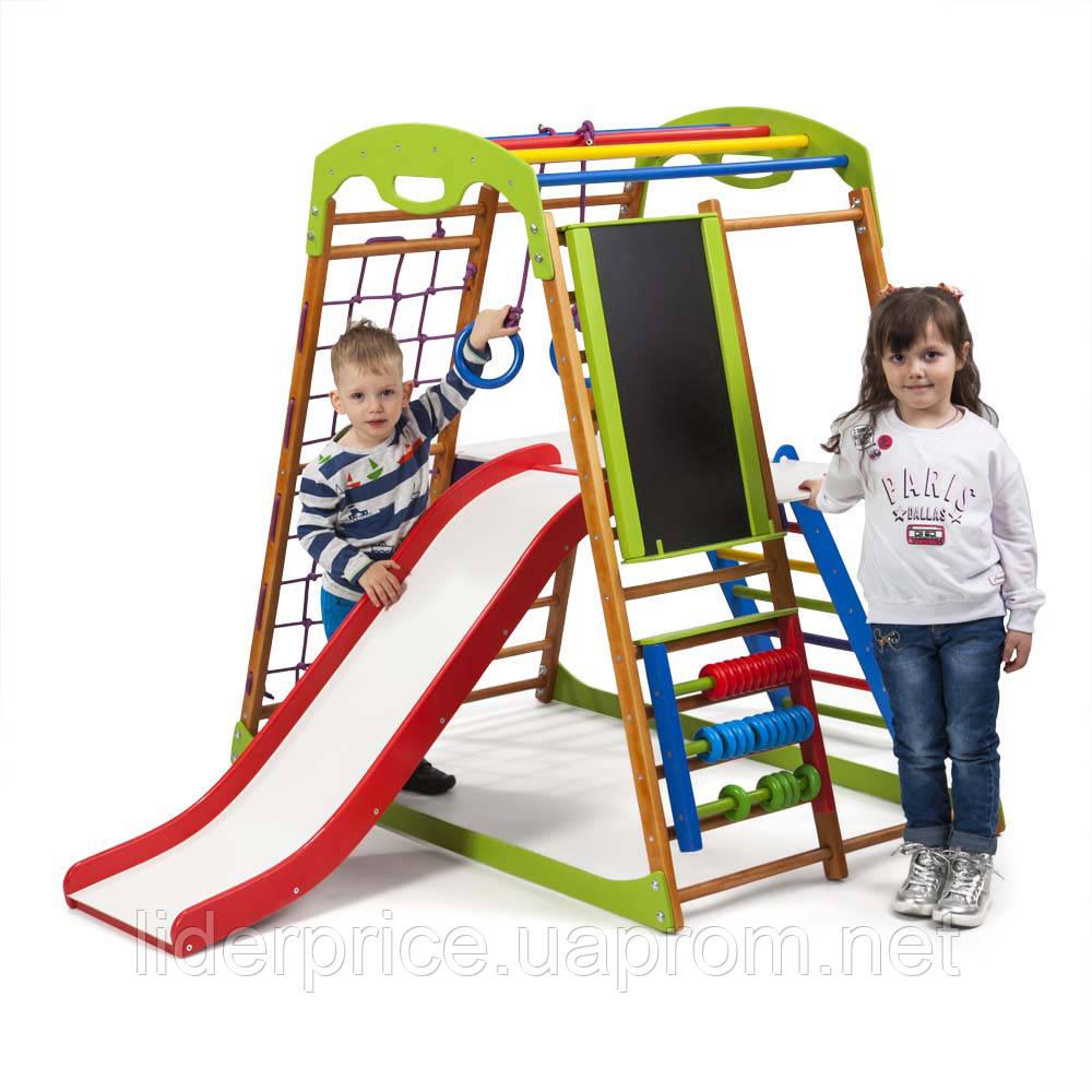 1818e175255c SportBaby Детский спортивный комплекс для дома BabyWood Plus 3 -  Лидерпрайс-магазин спортивных тренажеров и