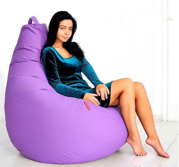 Огромное Кресло- мешок груша 100*140 см С дополнительным чехлом