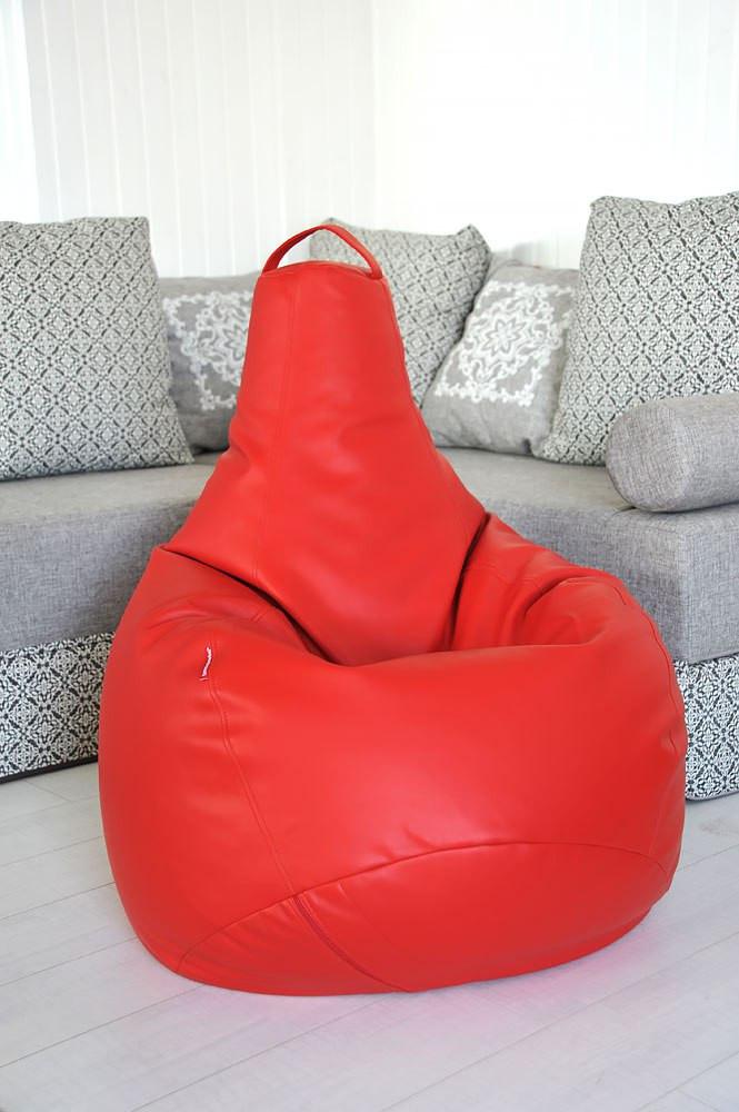 Огромное Кресло-мешок груша Эко-кожа 100*140см