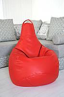 Огромное Кресло-мешок груша Эко-кожа 100*140см , фото 1