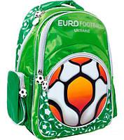 Рюкзак (ранец) школьный 1 Вересня Yes 551472 Футбол зеленый