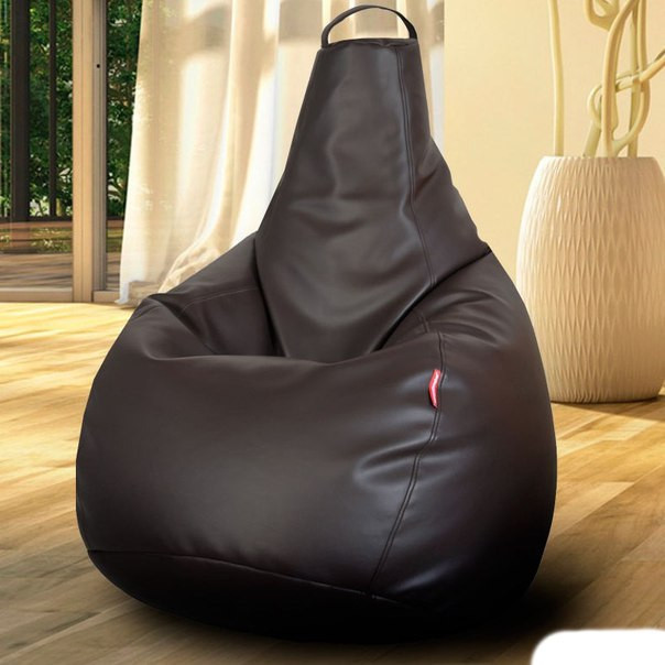 Огромное Кресло-мешок груша Эко-кожа100*140 см