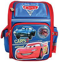 Рюкзак (ранец) школьный каркасный 1 Вересня 551431 Тачки-3 короб