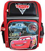 Рюкзак (ранец) 1 Вересня школьный каркасный 551430 Тачки-3 короб