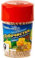 ФБ Зубочистки деревянные 250шт