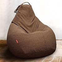 Чехол для кресла-груши с ткани микро-рогожка Саванна, большой размер